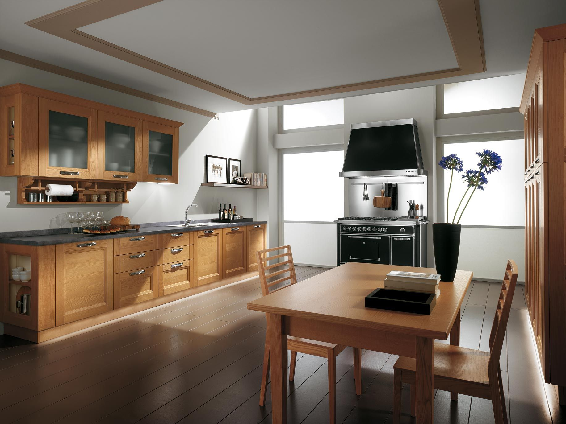 E per una cucina in stile contemporaneo generalmente in tanti ritengono la cucina contemporanea - Maniglie per pensili cucina ...