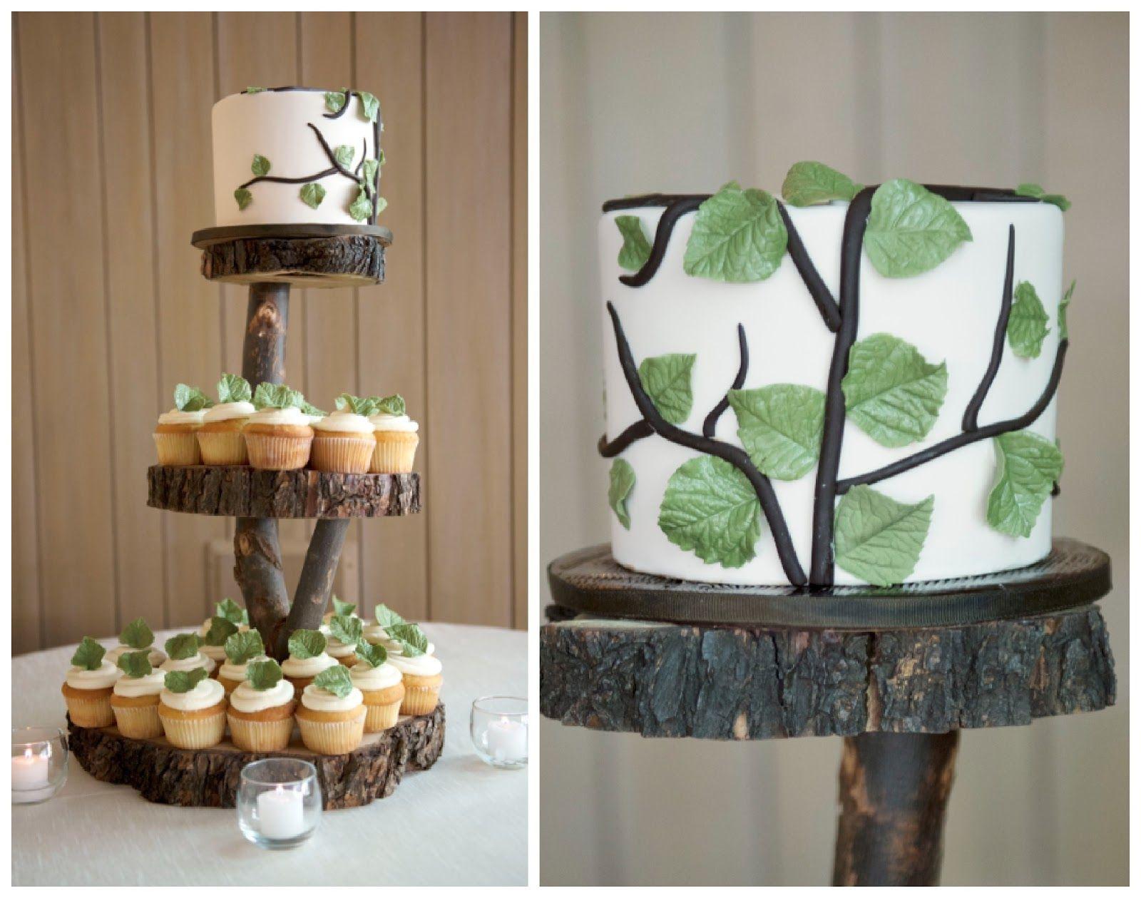Decoracion para pedestales de tortas buscar con google - Ideas para decoracion rustica ...