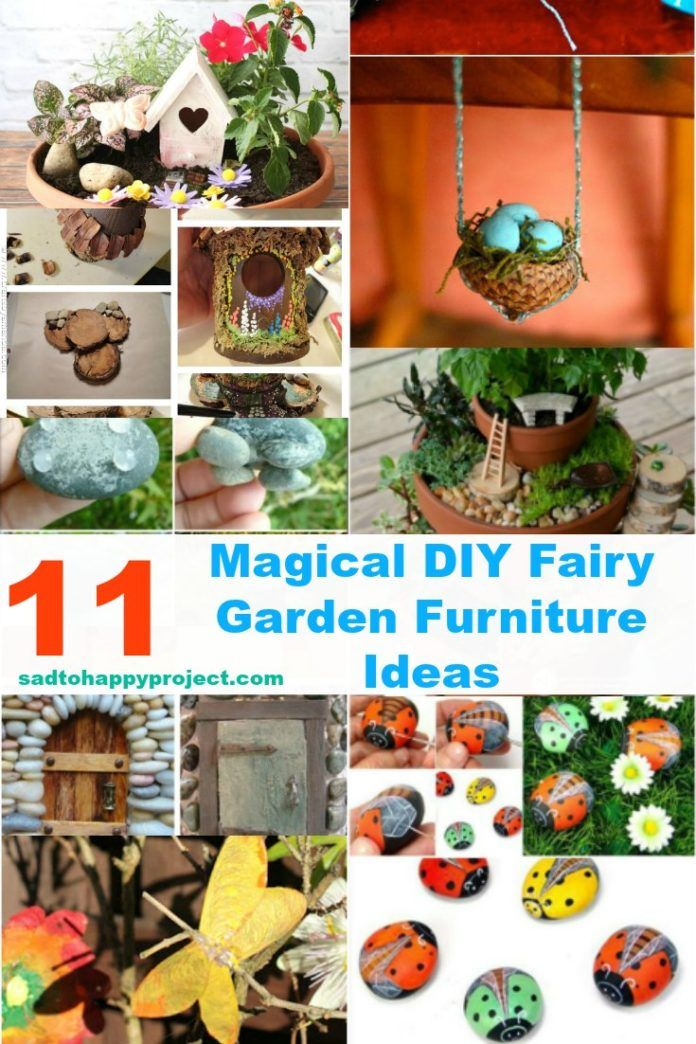 11 Magical Diy Fairy Garden Furniture And Accessories Garden