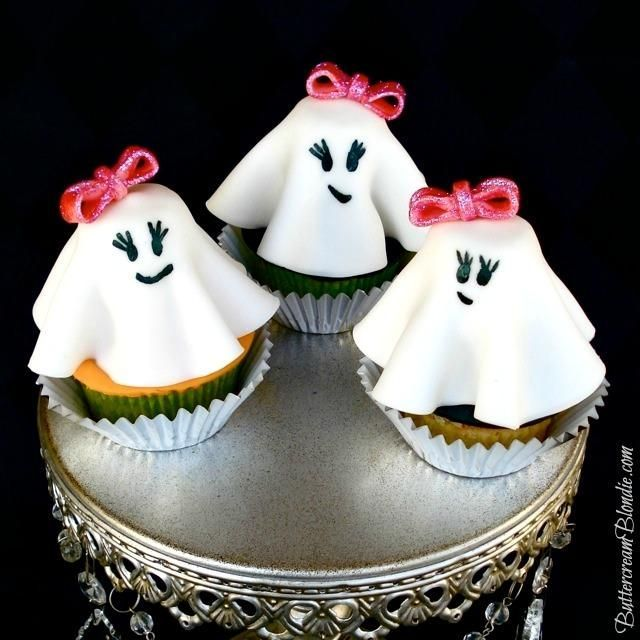 Cute Halloween Cakes Halloween Recipes  Ghost Cupcakes