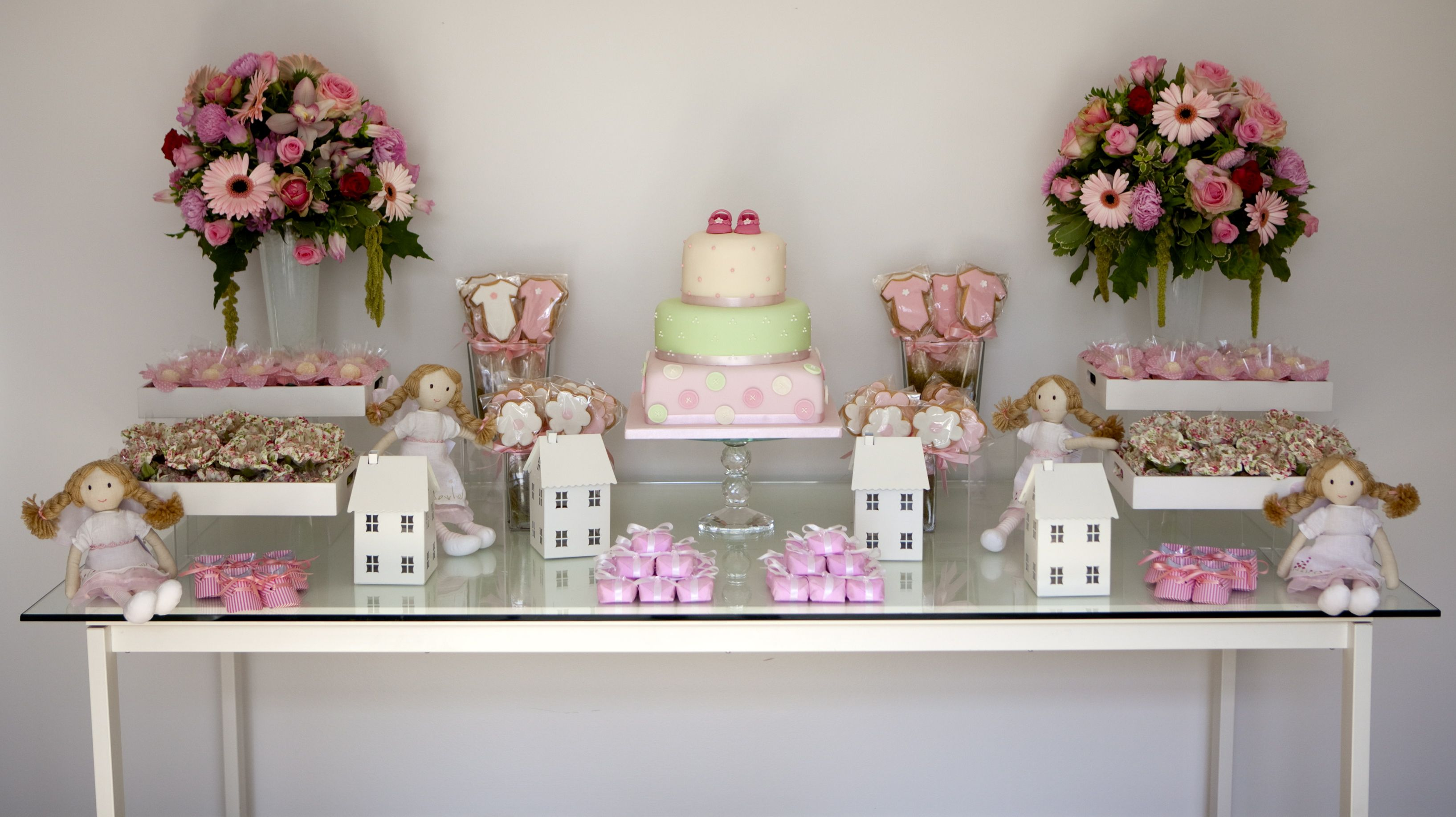 Luxury Girl Baby Shower Sweet Table Styling By White Door