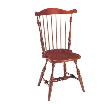 Side Chairs U0026 Stools: Windsor #10, Comb Back Side Chair Frederick Duckloe