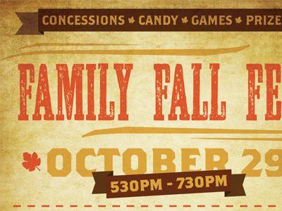 Family Fall Fest  Fall Fest And Logos