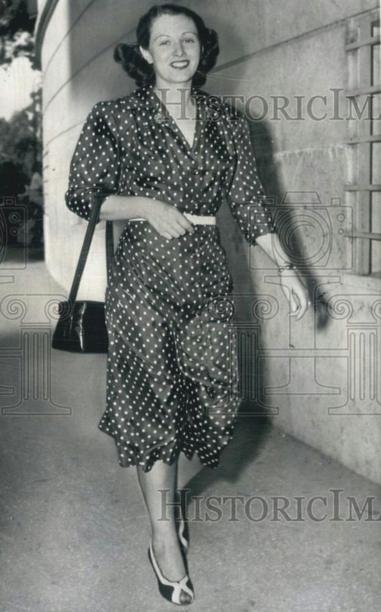 Lucky Luciano's long-time girlfriend, Igea Lissoni