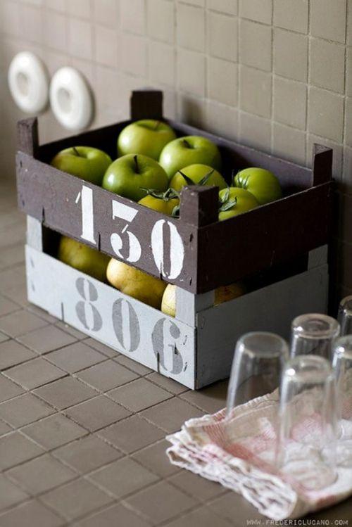 Des Cagettes Dans Toute La Maison Cagettes Deco Idee Rangement Deco Recup