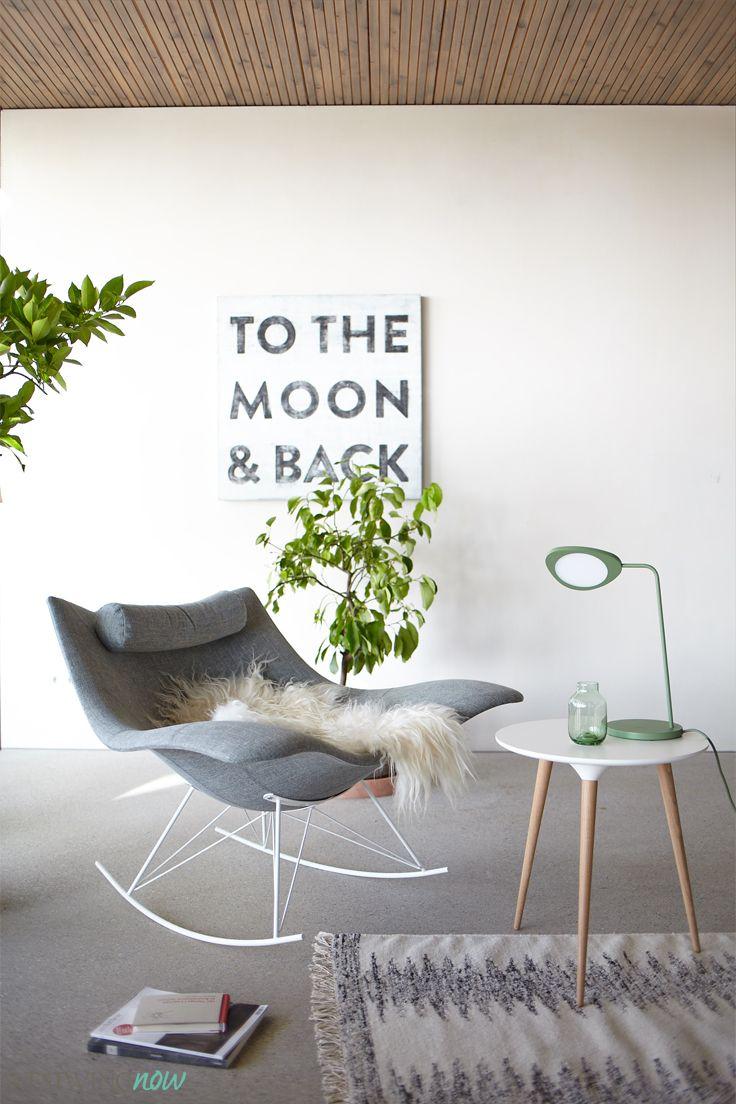 Der Schaukelstuhl Stingray Wird Bereits Als Design Klassiker Gefeiert. Denn  Welcher Sessel Kann Von