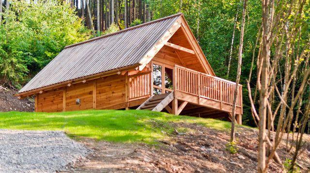 Maison en bois  Les Cabanes du0027Olivier, cabane en bois habitable