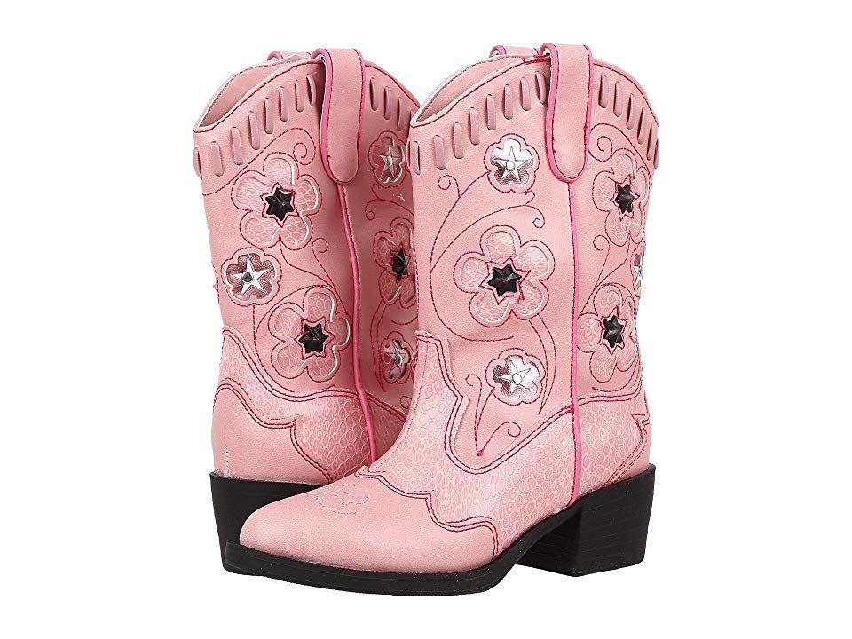 909dd4638c4 Roper Kids Western Lights Cowboy Boots (Toddler/Little Kid) Cowboy ...