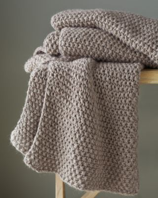 Eileen Fisher Baby Alpaca Knit Throw S H I P B O X Pinterest