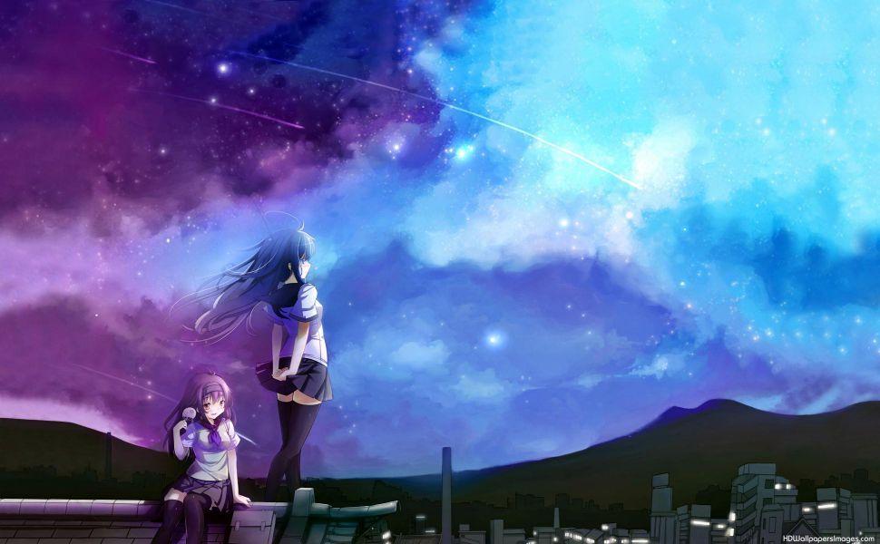 Anime Best Friends Hd Wallpaper Anime Best Friends Anime