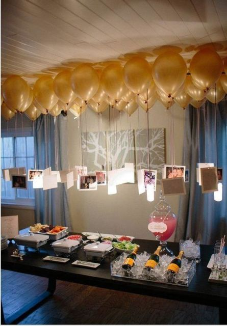18 års fest dekorationer