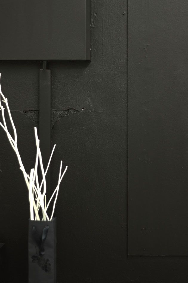 musta ja valkoinen = Kaadesign ja Kaarina | Asuntomessut