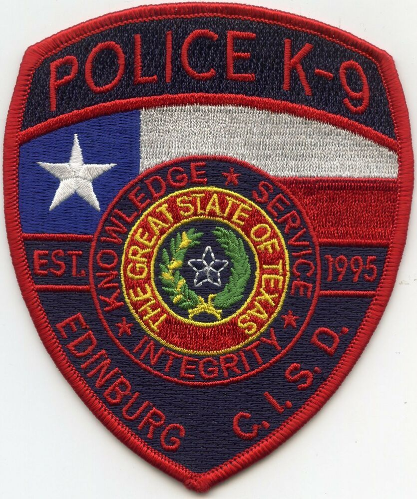 KEENE Independent School District ISD TEXAS TX POLICE PATCH