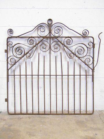Columbus Architectural Salvage Wrought Iron Garden Gate Wrought Iron Garden Gates Architectural Salvage Iron Garden Gates