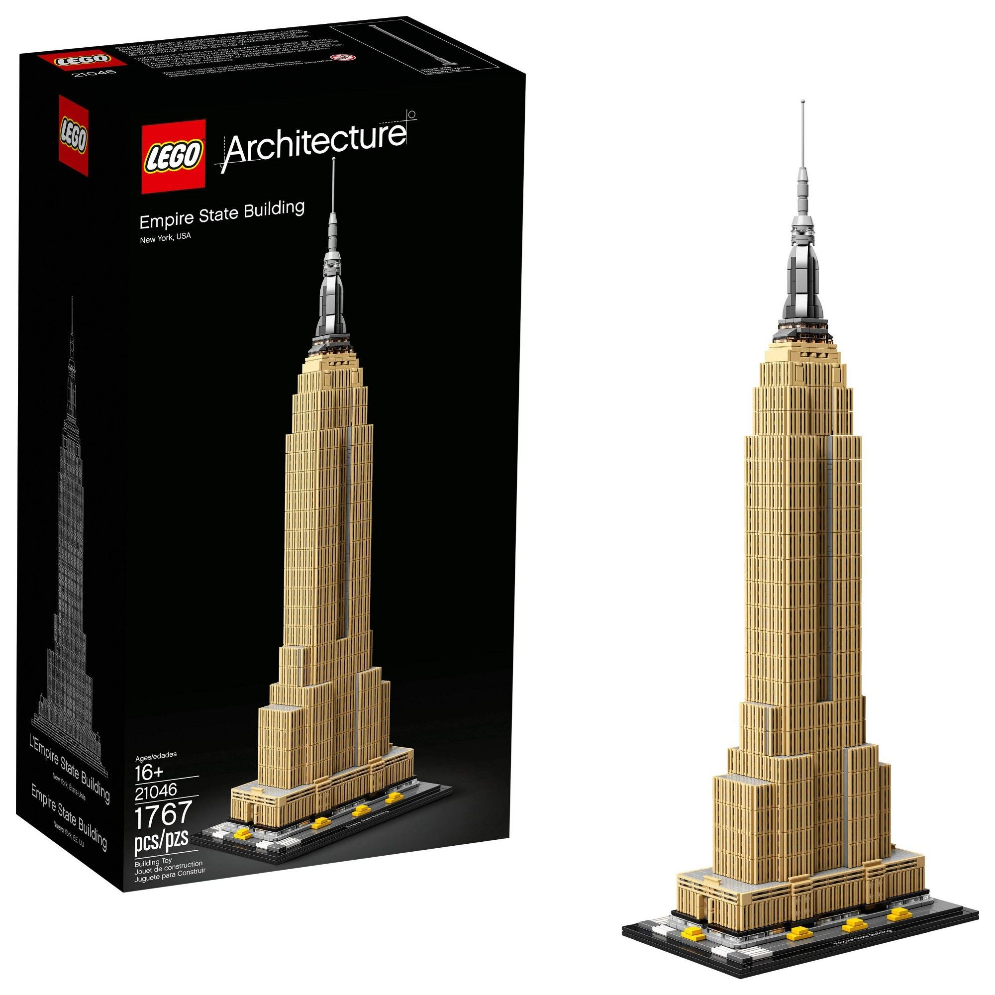 @New@ Lego Architecture New York City 21028 Toy Game Kids Play Gift Christmas