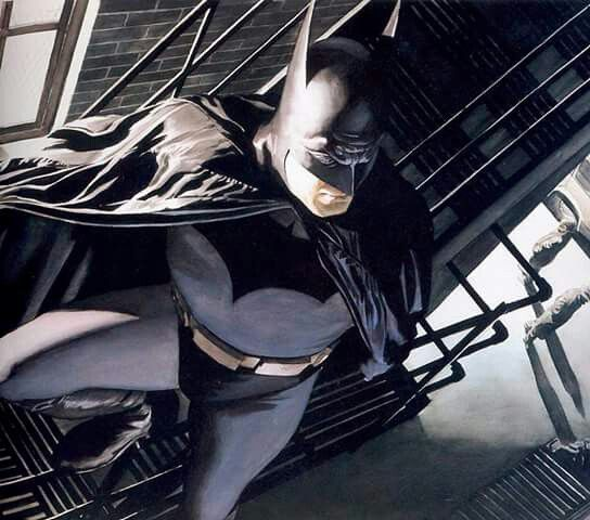 Fire Escape Man With Images Batman Batman The Dark Knight