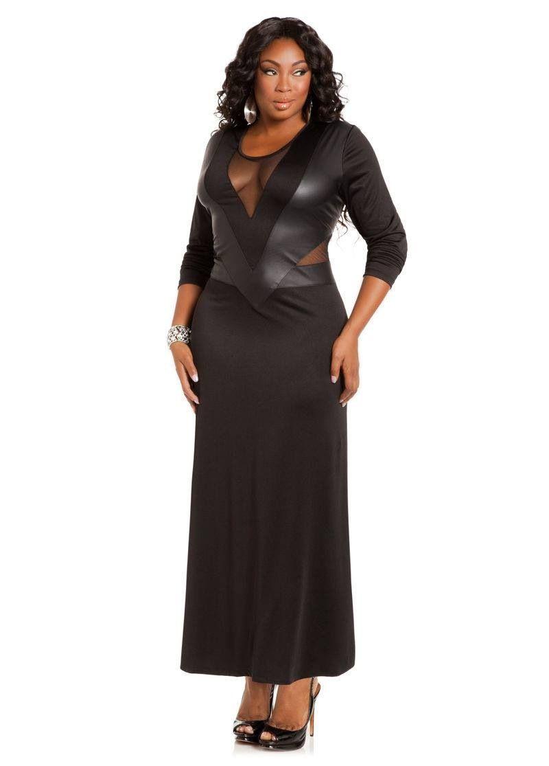 Plus Size Fashion Ashley Stewart Sheer Maxi Dress Maxi Dress Plus Size Dresses [ 1115 x 800 Pixel ]