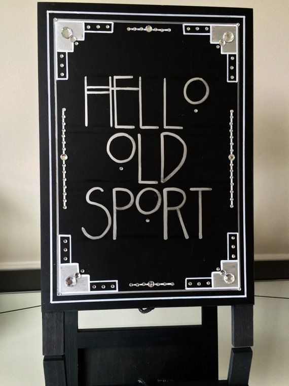 Gatsby quote sign party ideas pinterest tutoriale gatsby quote sign solutioingenieria Gallery