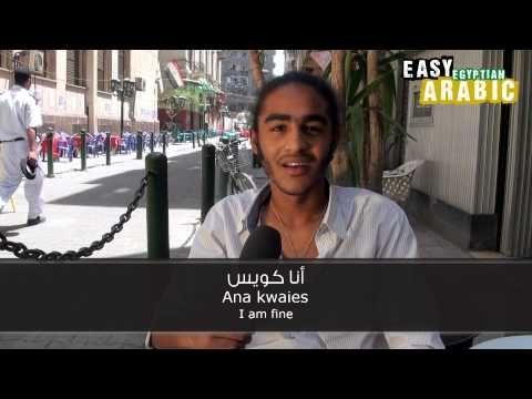 Easy Egyptian Arabic Basic Phrases 1 Learning Arabic Learn A New Language Arabic Phrases