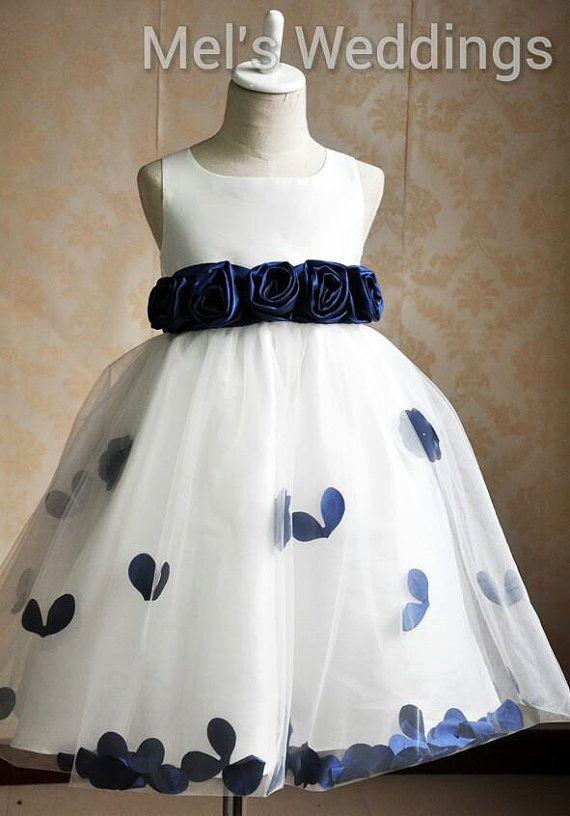 Robe bleu royal bebe
