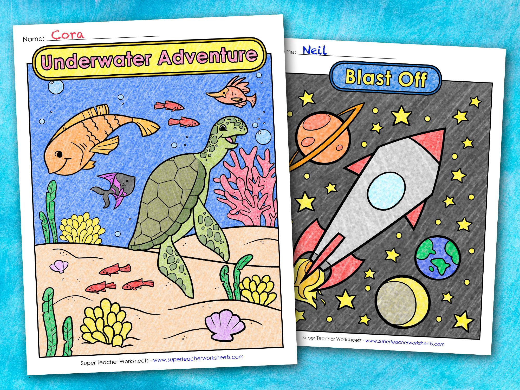 Coloring Pages For Kids In