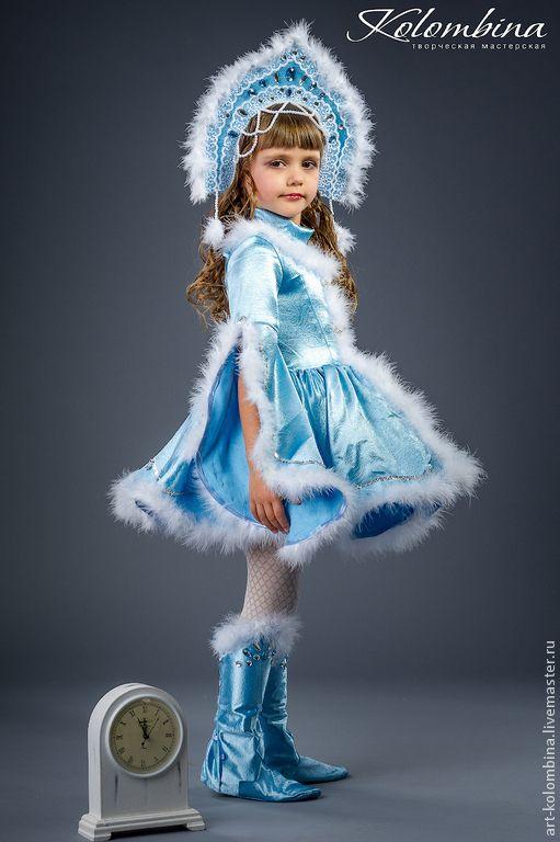 Платье или костюм снегурочки