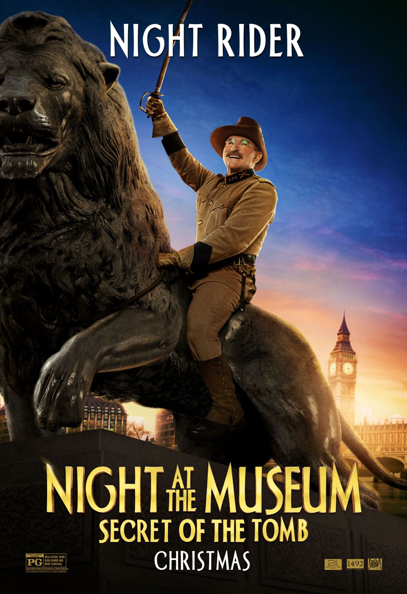 - Stiller NEW 2014 Movie Poster 24x36 Night at the Museum Secret of the Tomb