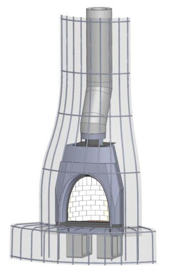 Adobelite The Original And Only Ul Listed Kiva Fireplace Kit Fireplace Kits Adobe Fireplace Adobe House