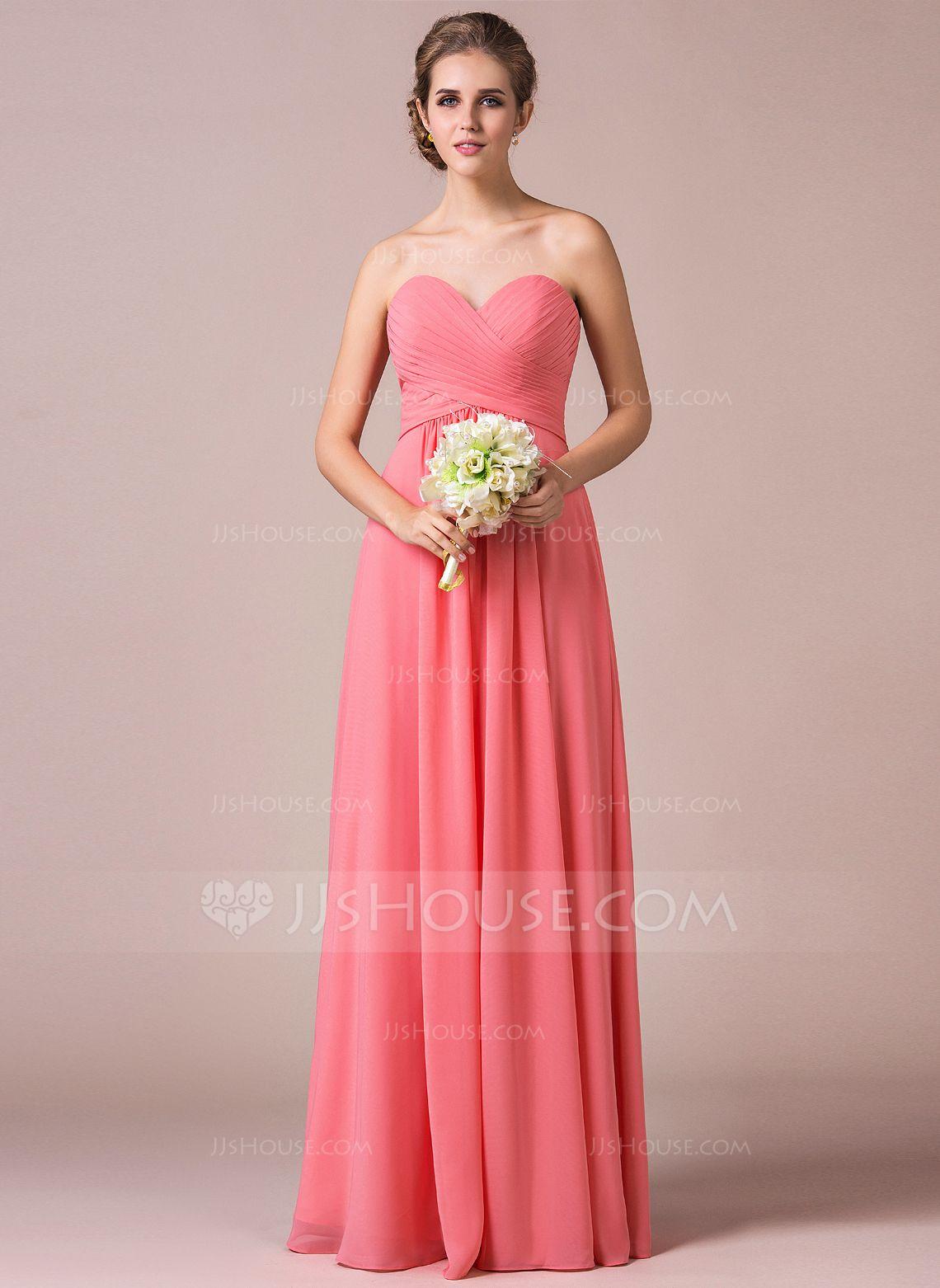Vestidos princesa/ Formato A Amada Longos Tecido de seda Vestido de ...
