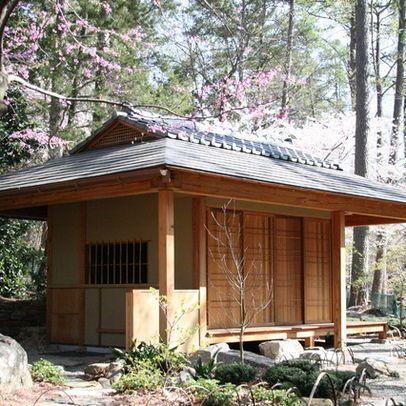 japanese tea pavillion - asian - exterior - raleigh - 2sl