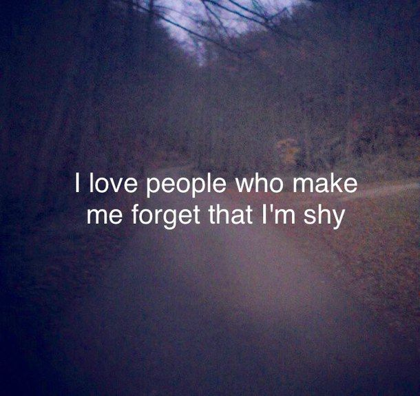 quote shy and people image More Quotes