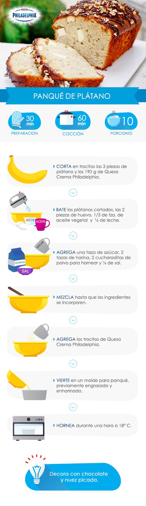 Un delicioso #panqué para compartir con la familia.