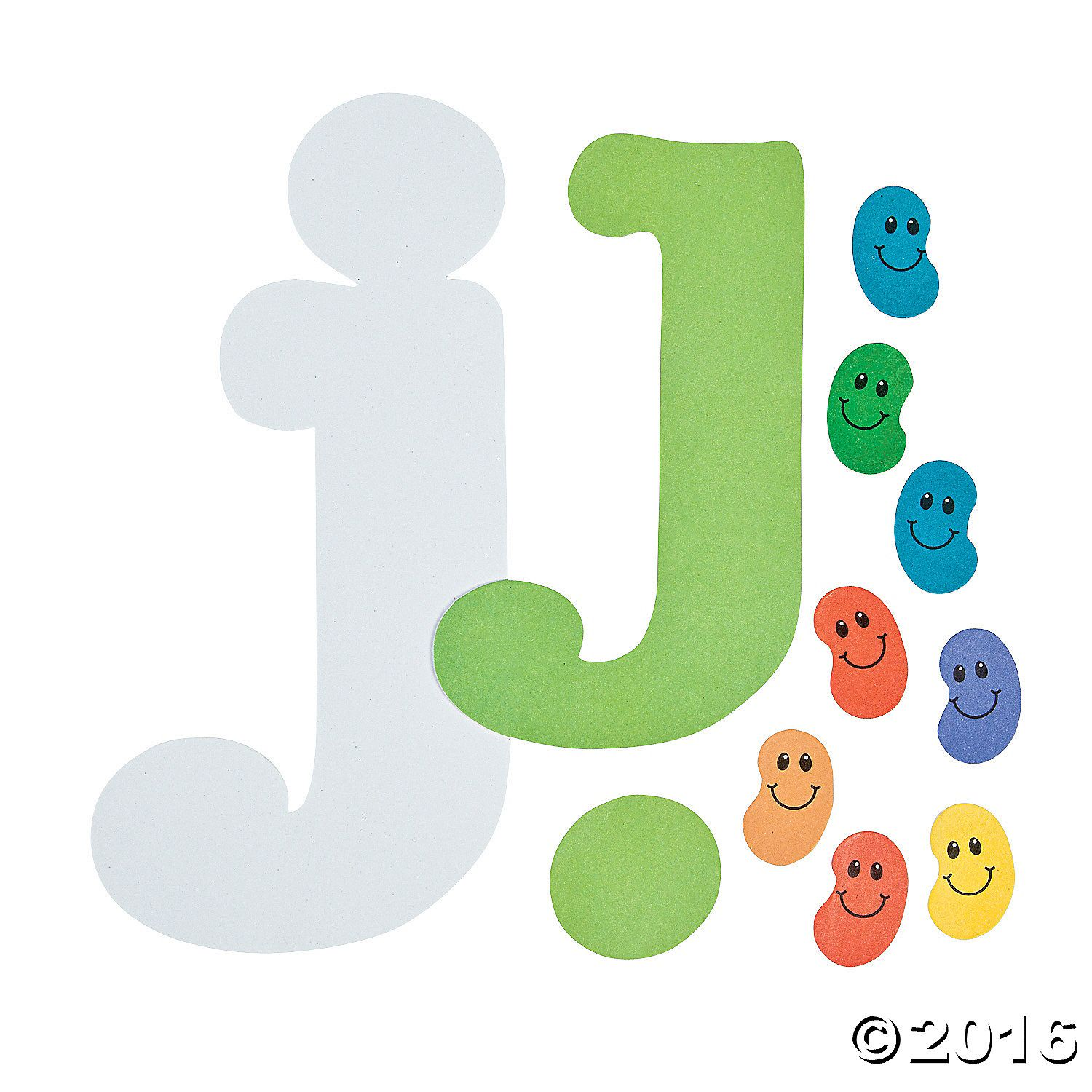 J Is For Jellybean Letter J Craft Kit A01