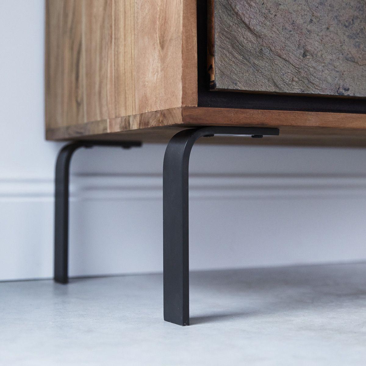 Temis Acacia Sideboard 100 In 2020 Furniture Legs Living Room Tv Unit Cool Furniture