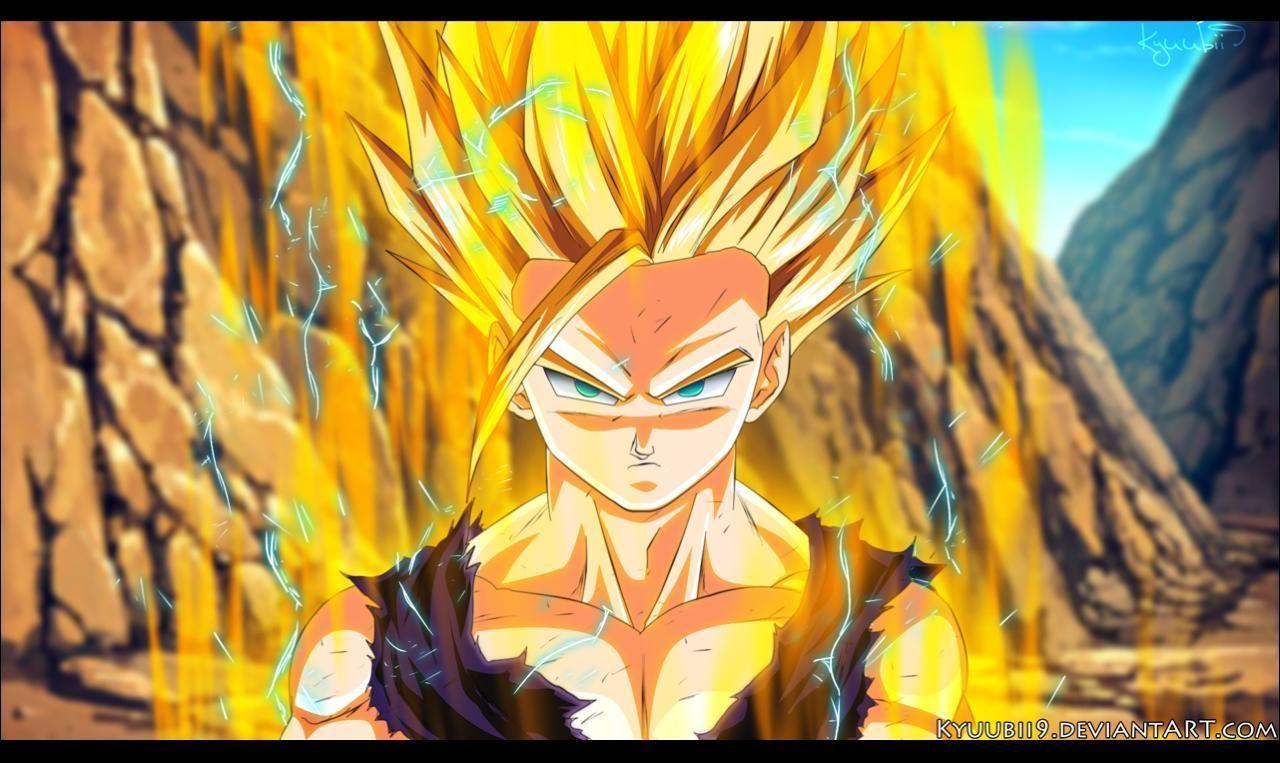 Ssj2 Gohan Wallpapers Wallpaper Cave Gohan Vs Cell Chibi Goku