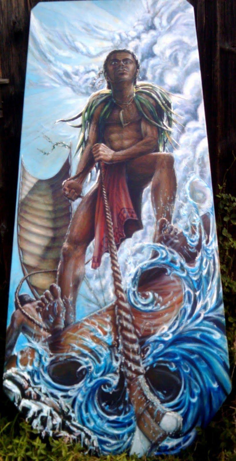 Tattoos Hawaiian Mythology
