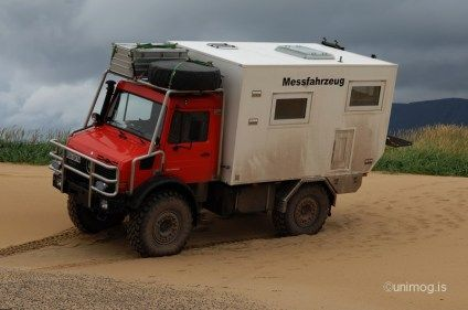 2014 Mercedes Benz Unimog 4x4 Camper Truck With The Rear Living Module