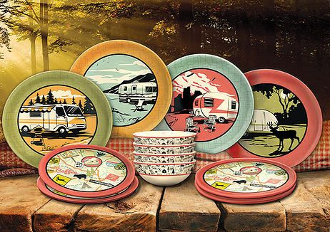 camping and RV cookware | Dish sets, Camping dishes ...