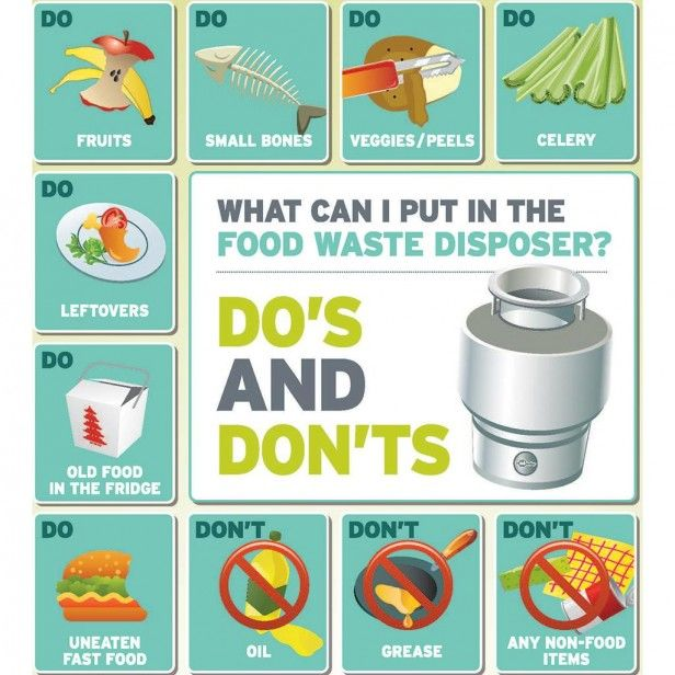 Things You Should Never Put Down A Garbage Disposal Garbage