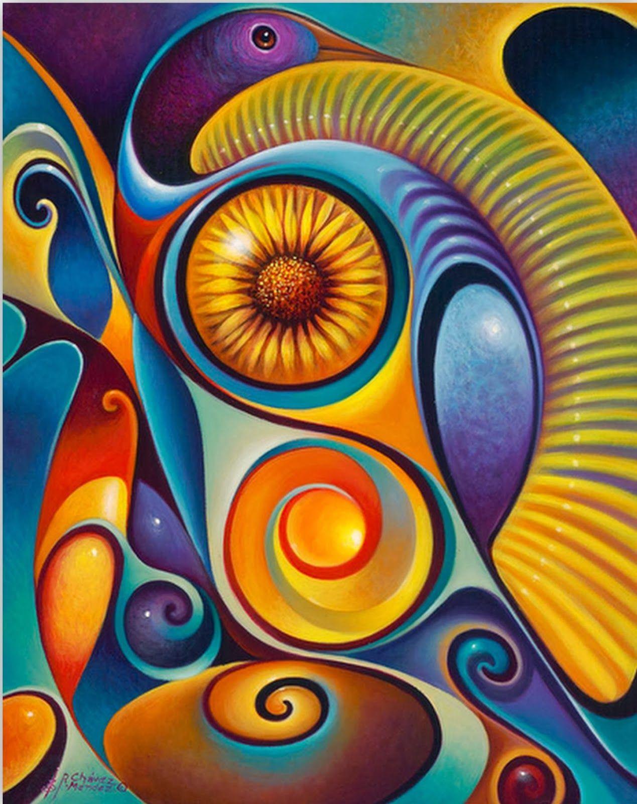 Pinturas de abstractos modernos decorativos cuadros - Ideas para pintar cuadros ...