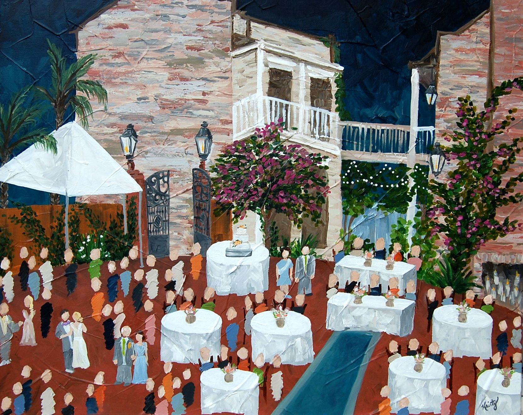One Of My Favorite Venues To Paint Is Race And Religious Here In New Orleans