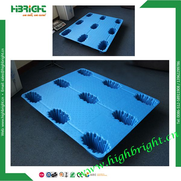 Heavy Duty 9 Runners Style Transport Plastic Field Pallet