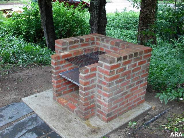 Remember having these in everyone 39 s backyards growing up oh my pinterest bricks - How to build an outdoor brick oven ...