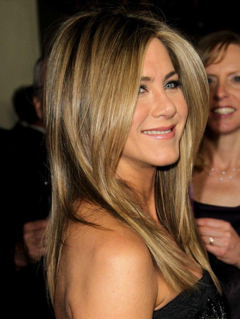 Jennifer Aniston Classy Long Hairstyles Jaime Pinterest