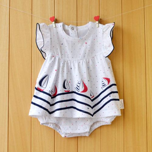 5df4b1919628a Baby Girl Rompers Summer 100% Cotton Infant Jumpsuits Roupas Bebes ...