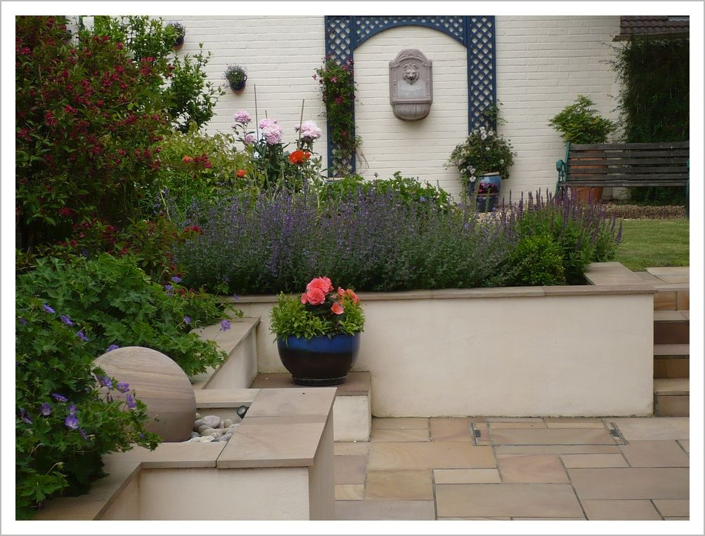 image result for ideas for walls in garden