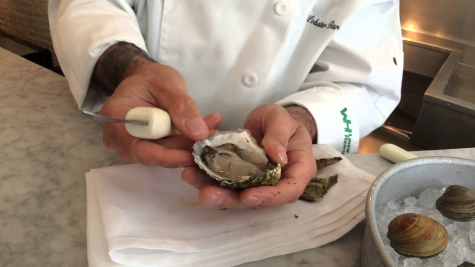 How to shuck oysters and clams with chef ed mcfarland