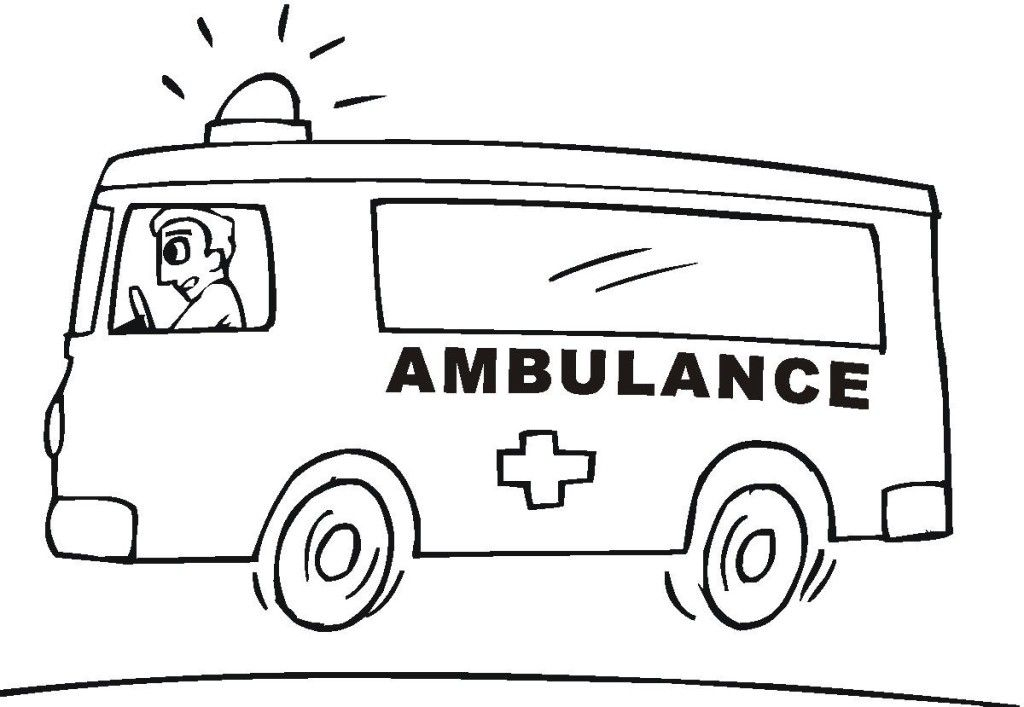 Ambulance Coloring Pages For Designs Wiki All About Truck Coloring Pages Coloring Pages Emergency Vehicles