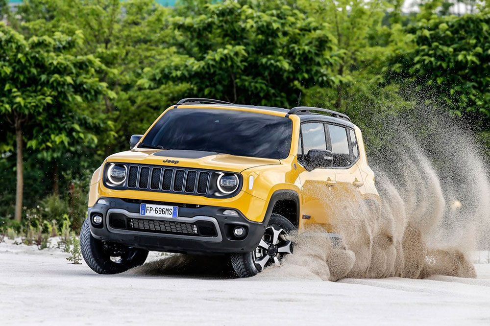 Jeep Renegade 2019 Jeep Renegade Jeep Renegade Trailhawk Jeep Renegade Black