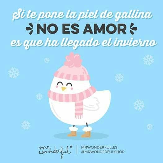 Si Te Pone La Piel De Gallina No Es Amor Frases Piel De Gallina Frases Mr Wonderfull